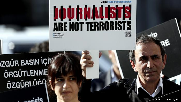 Journalists not terrorists
