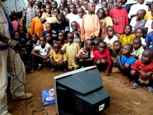 It's estimated that 95 percent of African households have analog TV systems