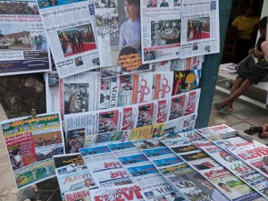 Myanmar's media sector has opened up remarkably over the past few years (photo: Kyle James)