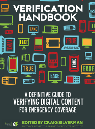 front page of Verification Handbook
